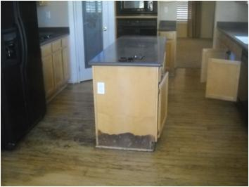 Acton home water damage