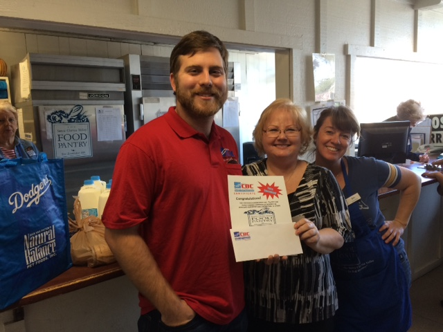 CBC Cares Winner - SCV Food Pantry