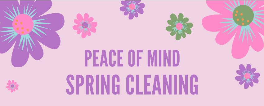 peace of mind spring cleaning services